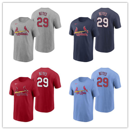 Men Alex Reyes T-Shirt Gray, Red, Navy Blue, Light Blue