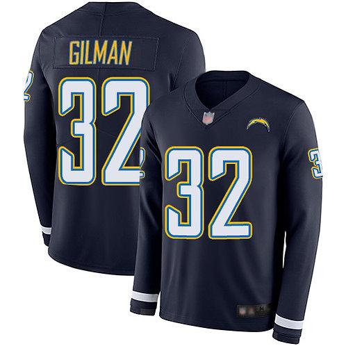 Men Alohi Gilman Navy Blue Therma Long Sleeve