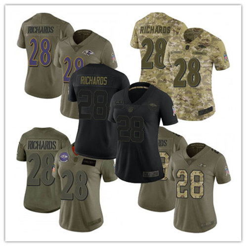 Women Jordan Richards Limited Salute to Service Olive, Camo, Black