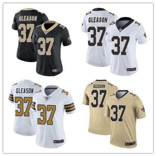 Women Steve Gleason Vapor Limited Black, White, Color Rush, Gold