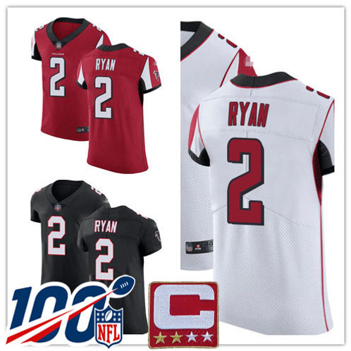 Men Matt Ryan Vapor Elite Red, White, Black