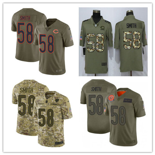 Men Roquan Smith Limited Salute to Service Olive, Camo