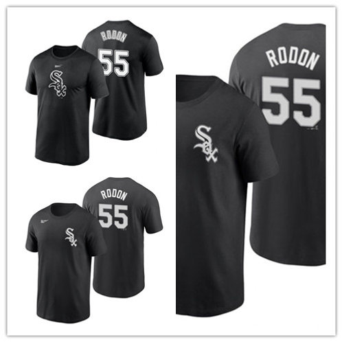 Men Carlos Rodon T-Shirt Black