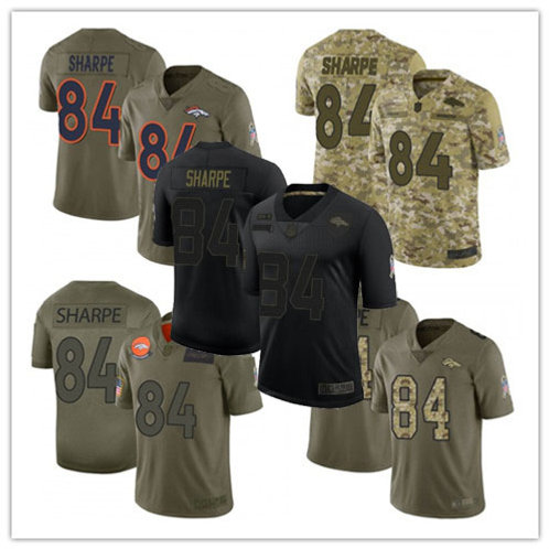 Men Shannon Sharpe Limited Salute to Service Olive, Camo, Black