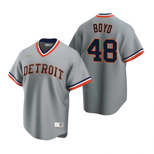 Men Matthew Boyd Cooperstown Gray