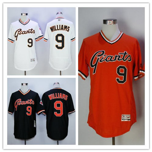 Men Matt Williams Cooperstown White, Orange, Black