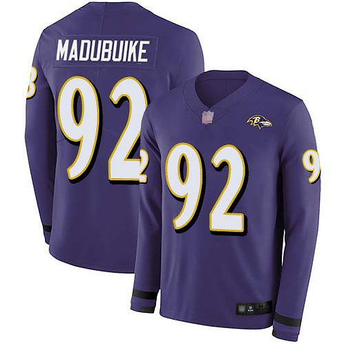 Men Justin Madubuike Purple Therma Long Sleeve