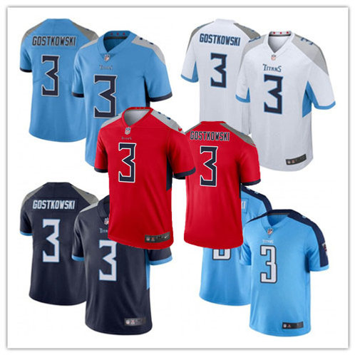 Men Stephen Gostkowski Vapor Limited Light Blue, White, Navy, Rush, Red