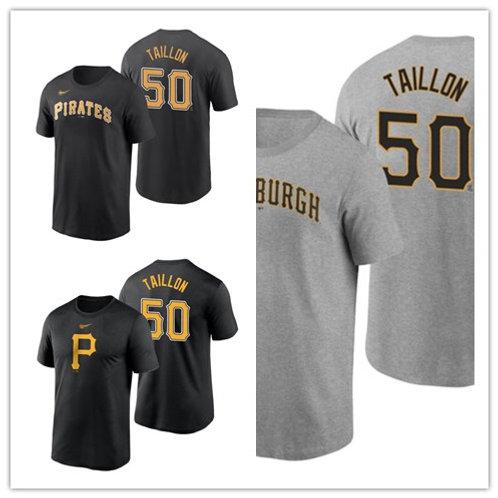 Men Jameson Taillon T-Shirt Gray, Black