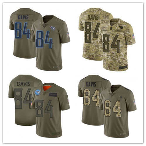 Youth Corey Davis Limited Salute to Service Olive, Camo