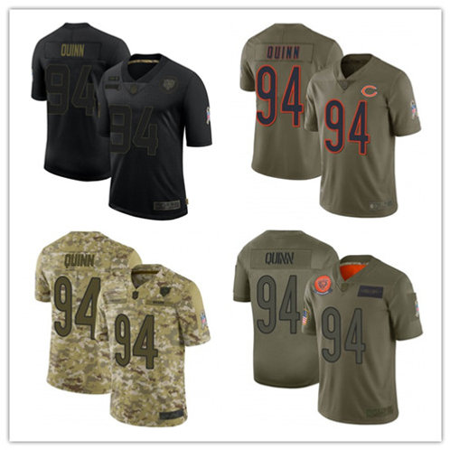 Youth Robert Quinn Limited Salute to Service Olive, Camo, Black