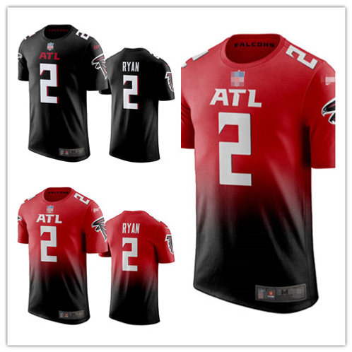 Men Matt Ryan T-Shirt Red, Black