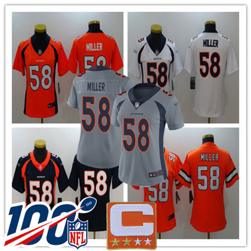 Women Von Miller Vapor Limited Orange, White, Navy, Rush, Grey