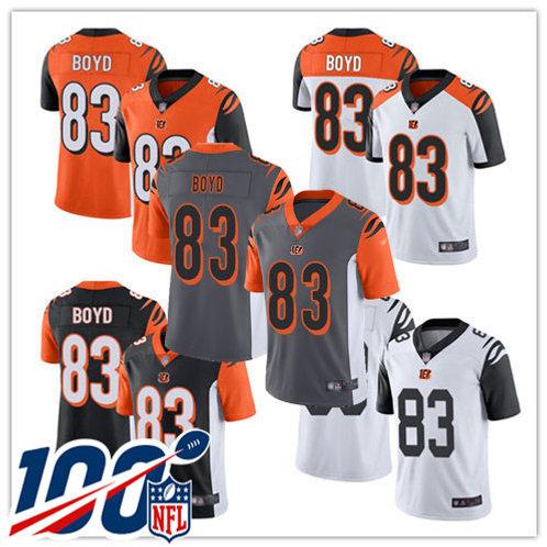 Men Tyler Boyd Vapor Limited Black, White, Orange, Rush, Silver