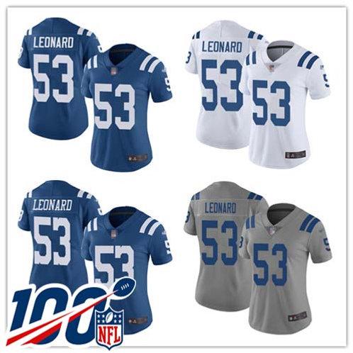 Women Darius Leonard Vapor Limited Blue, White, Rush, Gray