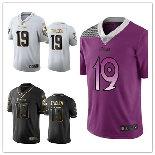 Men Adam Thielen Limited Golden Edition, City Edition