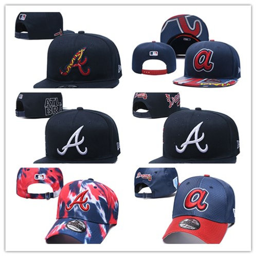 Men Authentic Game Hat Blue/Red, Navy Blue