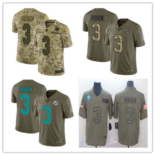 Youth Josh Rosen Limited Salute to Service Olive, Camo