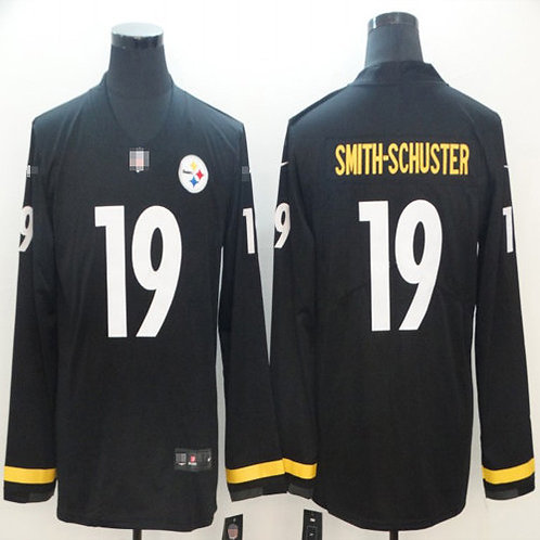 Men JuJu Smith-Schuster Black Therma Long Sleeve