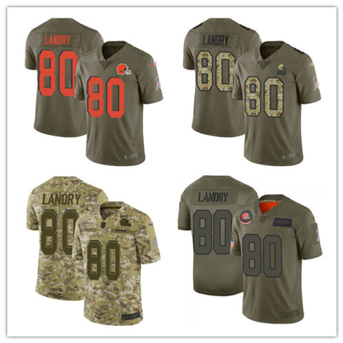 Men Jarvis Landry Limited Salute to Service Olive, Camo