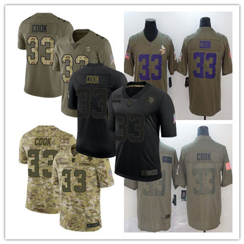 Youth Dalvin Cook Limited Salute to Service Olive, Camo, Black