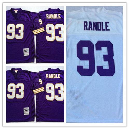 Men John Randle Throwback Purple, White