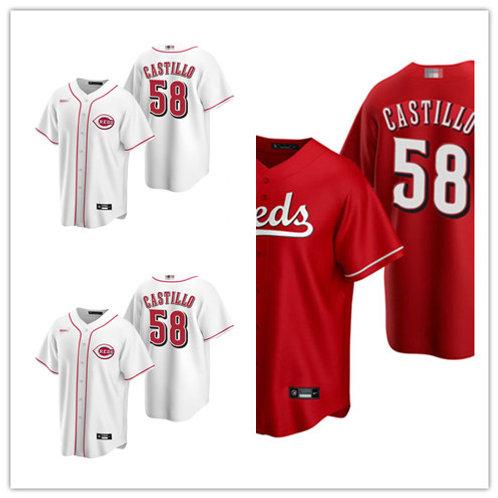 Youth Luis Castillo 2020/21 Replica White, Scarlet