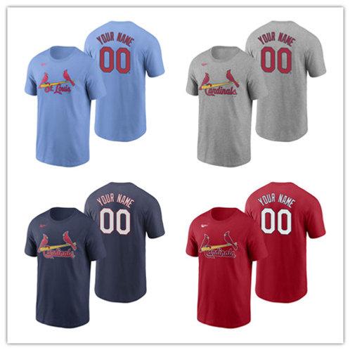 Men Custom T-Shirt Gray, Red, Navy Blue, Light Blue