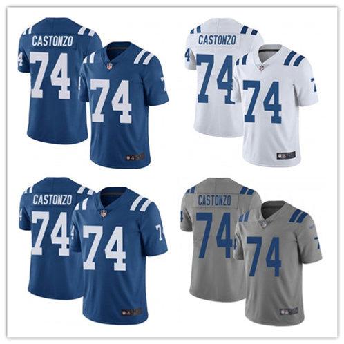 Men Anthony Castonzo Vapor Limited Blue, White, Rush, Gray