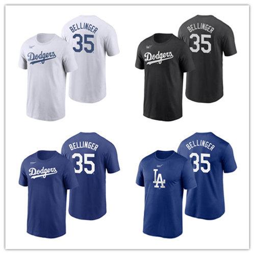 Men Cody Bellinger T-Shirt White, Royal, Black