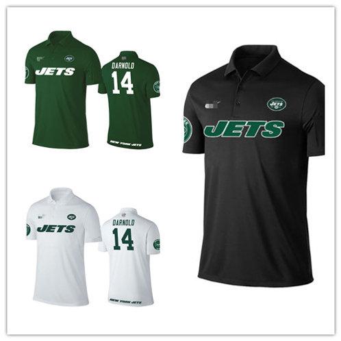Men Sam Darnold Shirt Polo Green, White, Black