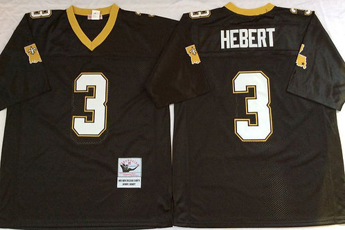 Men Bobby Hebert Throwback Black