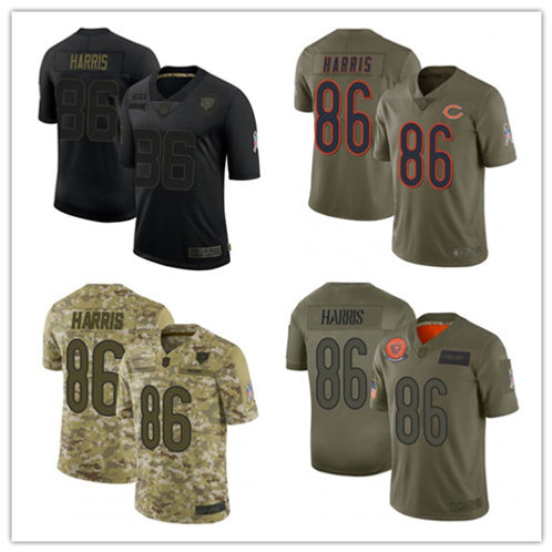 Youth Demetrius Harris Limited Salute to Service Olive, Camo, Black