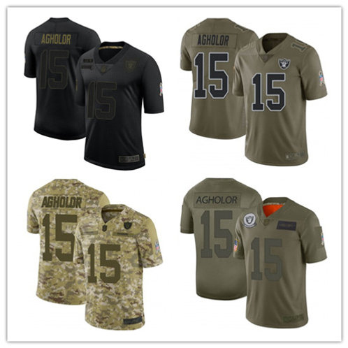 Youth Nelson Agholor Limited Salute to Service Olive, Camo, Black