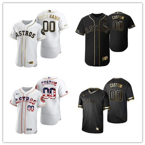 Men Custom White Golden, Black Golden, Stars/Stripes