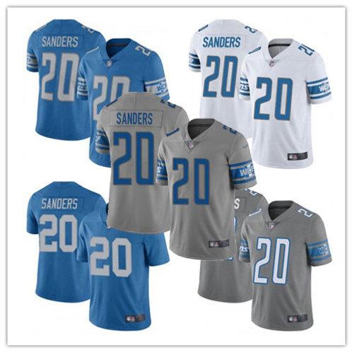 Men Barry Sanders Vapor Limited Blue, White, Alternate, Rush, Grey