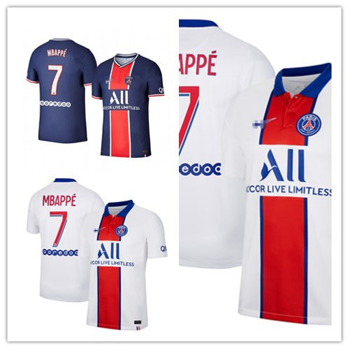 Women PSG Kylian Mbappe 2020/21 Home, Away