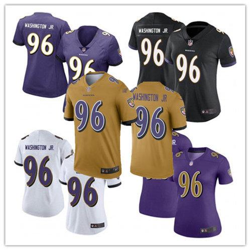 Women Broderick Washington Jr. Vapor Limited Purple, White, Black, Rush, Gold