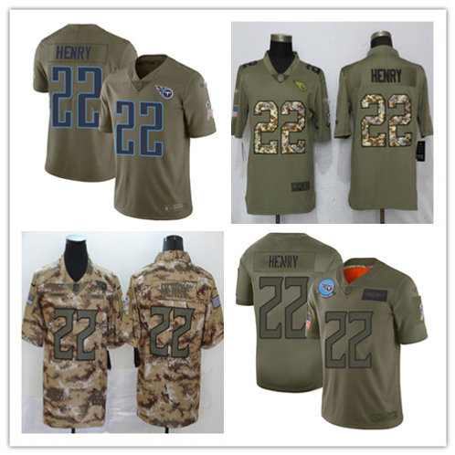 Men Derrick Henry Limited Salute to Service Olive, Camo