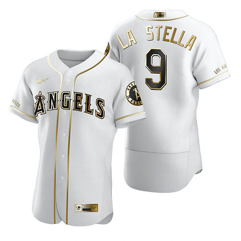 Men Tommy La Stella White Golden