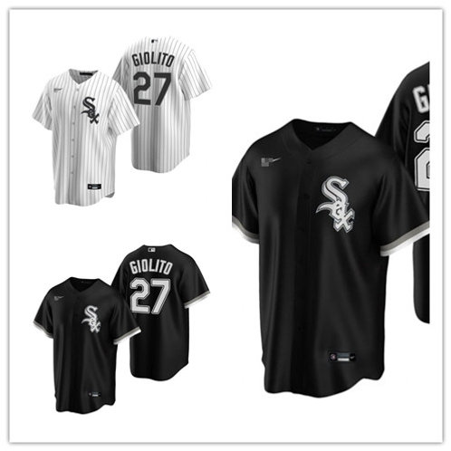 Men Lucas Giolito 2020/21 Replica White, Black