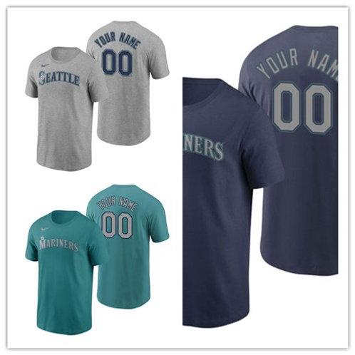 Men Custom T-Shirt Gray, Green, Navy Blue