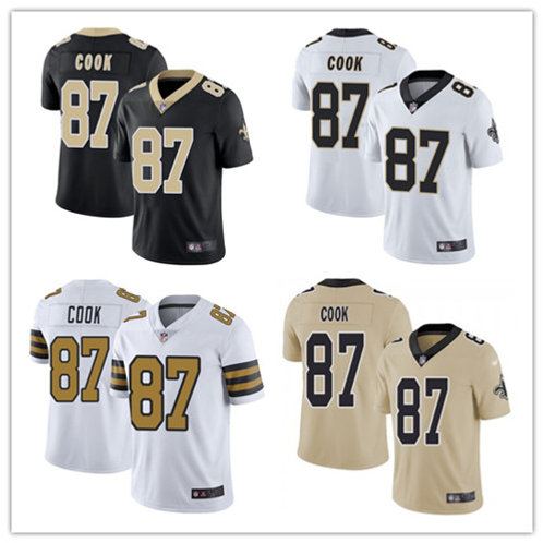 Youth Jared Cook Vapor Limited Black, White, Color Rush, Gold