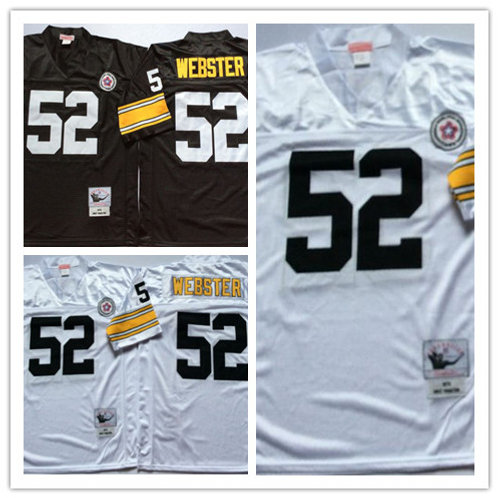 Men Mike Webster Throwback Black and White