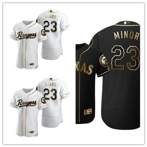 Men Mike Minor White Golden, Black Golden