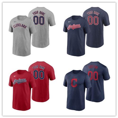 Men Custom T-Shirt Scarlet, Gray, Navy Blue