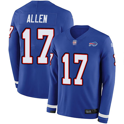 Men Josh Allen Blue Therma Long Sleeve