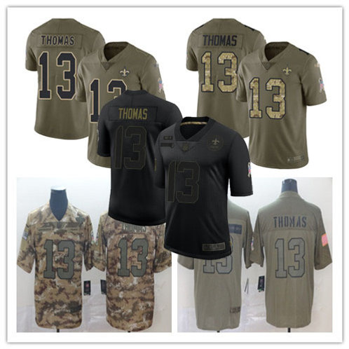 Youth Michael Thomas Limited Salute to Service Olive, Camo, Black