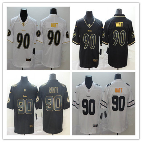Men T. J. Watt Limited Golden Edition, Team Logo Fashion