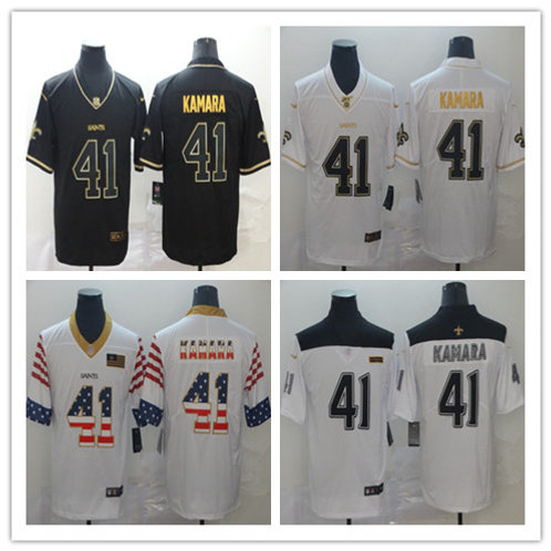 Men Alvin Kamara Limited Golden Edition, City Edition, Independence Day